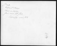 Rapid Transit Photographs -- Box 12, Folder 40 (June 16, 1927) -- print, 1927-06-16, 10:45 A.M. (back of photograph)