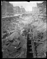 Rapid Transit Photographs -- Box 13, Folder 23 (May 14, 1920 - May 15, 1920) -- negative, 1920-05-15, 10:57 A.M.