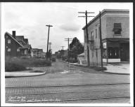 Street Improvement Photographs -- Box 21, Folder 03 (Ambrose Avenue) -- print, 1926-09-24