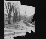 Street Improvement Photographs -- Box 21, Folder 11 (Attica Avenue) -- print, 1927-03-03