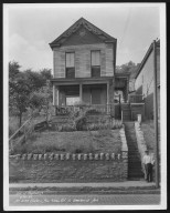 Street Improvement Photographs -- Box 22, Folder 45 (Eastern Avenue) -- print, 1932-06-16