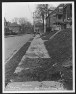 Street Improvement Photographs -- Box 24, Folder 64 (Jay Street) -- print, 1930-02-05
