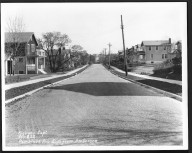 Street Improvement Photographs -- Box 27, Folder 64 (Pembrook Avenue) -- print, 1923-11-09