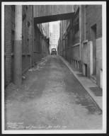 Street Improvement Photographs -- Box 27, Folder 68 (Phoebe Alley) -- print, 1930-10-08
