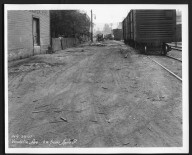 Street Improvement Photographs -- Box 29, Folder 48 (Vandalia Avenue) -- print, 1927-07-29