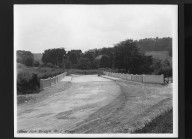 Street Improvement Photographs -- Box 30, Folder 08 (West Fork Road Bridge) -- print, 1928