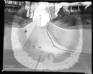 Street Improvement Photographs -- Box 31, Folder 09 (Aspasia Street) -- negative, 1938-11-07