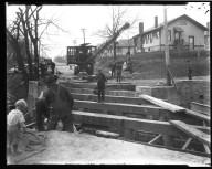 Street Improvement Photographs -- Box 32, Folder 26 (Bramble Avenue) -- negative, 1928