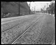 Street Improvement Photographs -- Box 33, Folder 07 (Clifton Avenue) -- negative, 1928