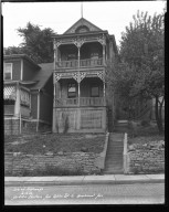 Street Improvement Photographs -- Box 34, Folder 22 (Eastern Avenue) -- negative, 1932-06-16