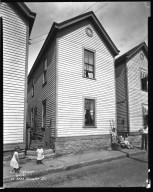 Street Improvement Photographs -- Box 35, Folder 22 (Feemster Street) -- negative, 1932-06-17