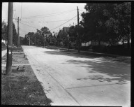 Street Improvement Photographs -- Box 35, Folder 24 (Ferdinand Place) -- negative, 1924
