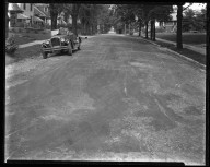 Street Improvement Photographs -- Box 35, Folder 53 (Franklin Avenue) -- negative, 1929