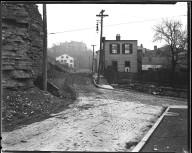 Street Improvement Photographs -- Box 35, Folder 59 (Gage Street) -- negative, 1928