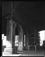 Street Improvement Photographs -- Box 36, Folder 10 (Gilbert Avenue Viaduct) -- negative, 1944-10-17