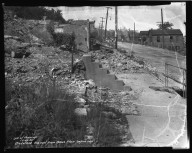 Street Improvement Photographs -- Box 36, Folder 13 (Gladstone Avenue) -- negative, 1937-05-25