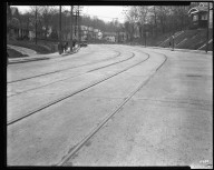 Street Improvement Photographs -- Box 36, Folder 31 (Grandin Road Viaduct) -- negative, 1930