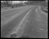 Street Improvement Photographs -- Box 36, Folder 37 (Hamilton Avenue) -- negative, 1928