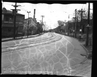Street Improvement Photographs -- Box 36, Folder 43 (Harrison Avenue) -- negative, 1939-04-27