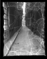 Street Improvement Photographs -- Box 36, Folder 65 (Hatter's Alley) -- negative, 1934-05-22