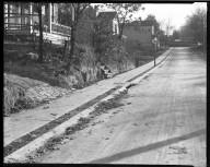 Street Improvement Photographs -- Box 39, Folder 14 (Lilac Avenue) -- negative, 1928