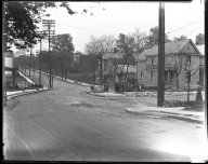 Street Improvement Photographs -- Box 42, Folder 11 (Myrtle Avenue) -- negative, 1928