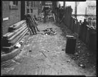 Street Improvement Photographs -- Box 42, Folder 18 (Ninth Street) -- negative, 1924