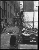 Street Improvement Photographs -- Box 42, Folder 19 (Ninth Street) -- negative, 1924