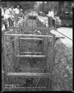 Street Improvement Photographs -- Box 43, Folder 43 (Ravine Street) -- negative, 1944-07-21