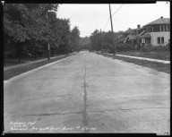 Street Improvement Photographs -- Box 44, Folder 58 (Sherwood Avenue) -- negative, 1930-09-12