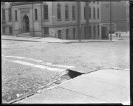 Street Improvement Photographs -- Box 45, Folder 03 (Sixth Street) -- negative, 1924