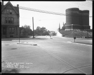 Street Improvement Photographs -- Box 45, Folder 45 (William H. Taft Road) -- negative, 1942-10-08