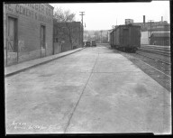 Street Improvement Photographs -- Box 46, Folder 23 (Vandalia Avenue) -- negative, 1928-04-06