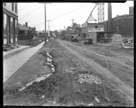 Street Improvement Photographs -- Box 46, Folder 29 (Verne Avenue) -- negative, 1924