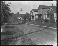 Street Improvement Photographs -- Box 46, Folder 50 (Ward Avenue) -- negative, 1928