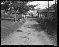 Street Improvement Photographs -- Box 47, Folder 04 (Weipul Alley) -- negative, 1928