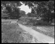 Street Improvement Photographs -- Box 47, Folder 12 (West Fork Bridge) -- negative, 1927