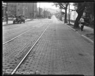 Street Improvement Photographs -- Box 47, Folder 16 (Westwood Avenue) -- negative, 1928-07-23