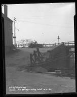 Street Improvement Photographs -- Box 50, Folder 04 (April 21, 1936 - June 6, 1936) -- negative, 1936-04-21