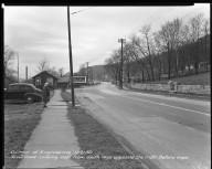Street Improvement Photographs -- Box 51, Folder 17 (November 21, 1950) -- negative, 1950-11-21