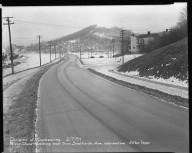 Street Improvement Photographs -- Box 51, Folder 18 (February 7, 1951 - February 27, 1951) -- negative, 1951-02-07
