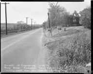 Street Improvement Photographs -- Box 51, Folder 42 (October 30, 1953) -- negative, 1953-10-30