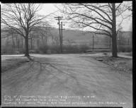 Street Improvement Photographs -- Box 51, Folder 47 (February 18, 1954) -- negative, 1954-02-18