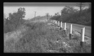 Miscellaneous Photographs -- Box 54, Folder 01 (Armco B in Type Retaining Walls) -- negative, 1940