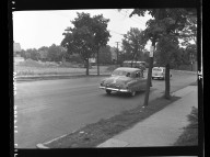 Miscellaneous Photographs -- Box 54, Folder 11 (City of Cincinnati Expressways) -- negative, 1955-05-12