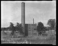 Miscellaneous Photographs -- Box 54, Folder 12 (Crookshank Road Incinerator) -- negative, 1931-09-24