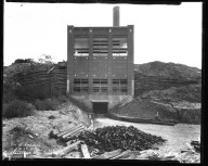 Miscellaneous Photographs -- Box 54, Folder 12 (Crookshank Road Incinerator) -- negative, 1931-09-25