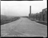 Miscellaneous Photographs -- Box 54, Folder 13 (Dunbar Place Incinerator) -- negative, 1932-01-08