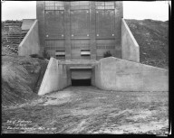 Miscellaneous Photographs -- Box 54, Folder 13 (Dunbar Place Incinerator) -- negative, 1931-12-20
