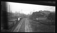 Miscellaneous Photographs -- Box 54, Folder 16 (Flood Protection Big 4 - Ditch Track Overpass) -- negative, 1941-01-12